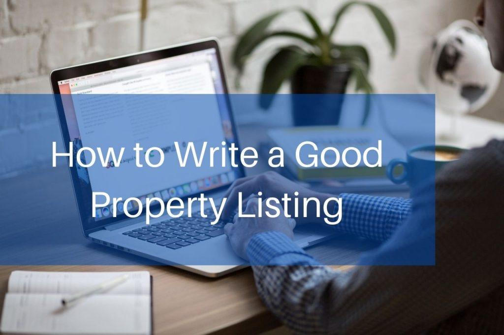 property listing help