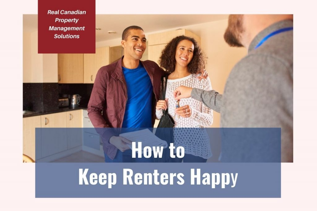 keeping tenants happy