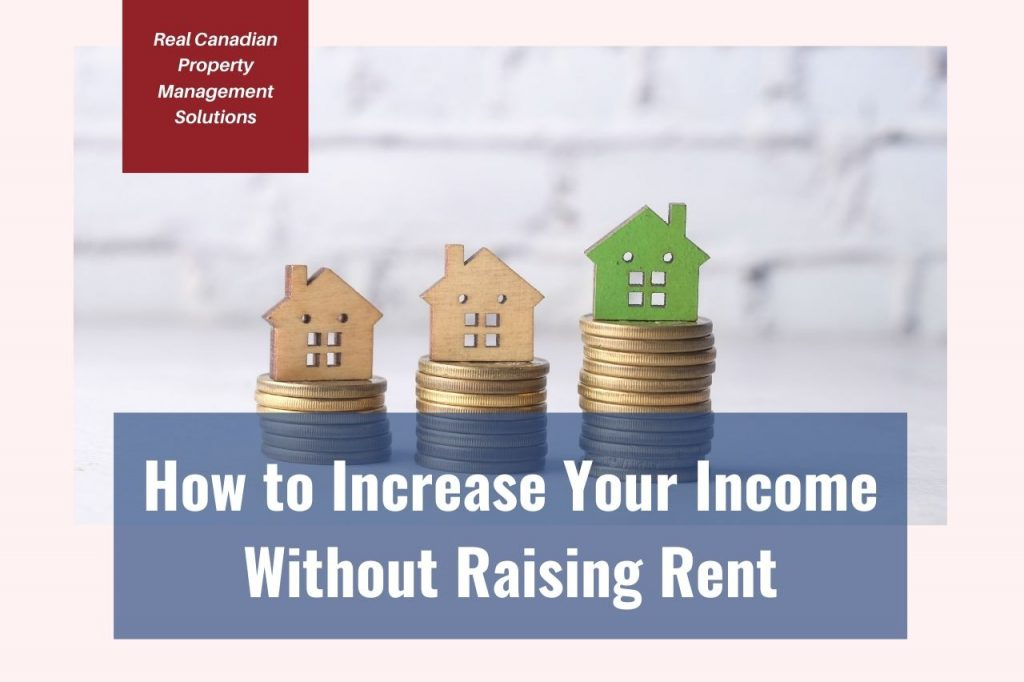 increasing income not rent